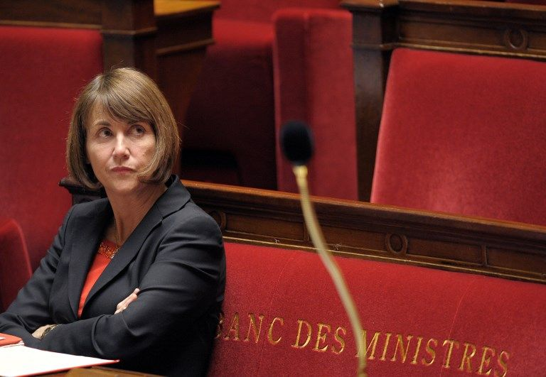 Christine Albanel alors Ministre de la Culture, à l'Assemblée Nationale (mars 2009)