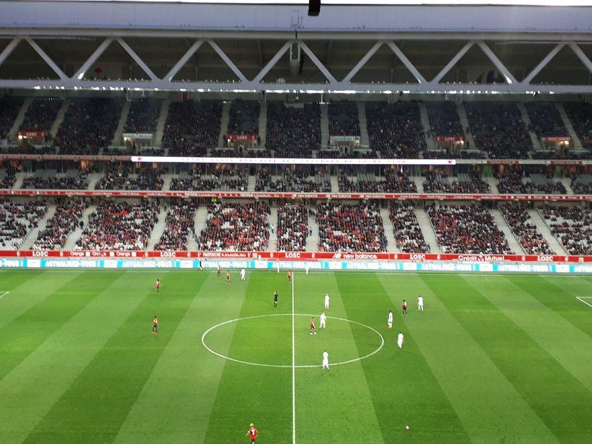 Le stade Pierre-Mauroy à Lille