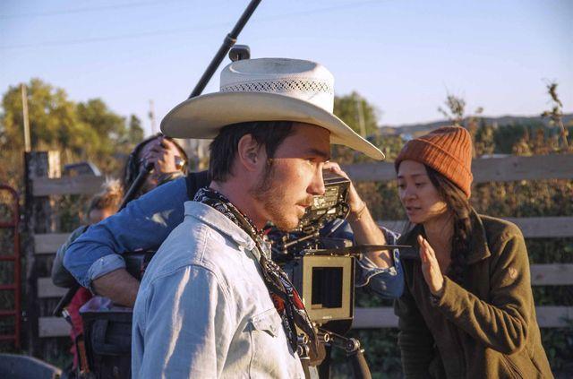 Sur le tournage du film