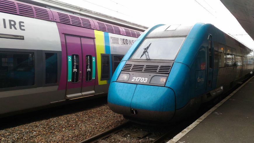 La LGV qui relie Laval et Angers en 52 minutes est à l'arrêt depuis fin janvier 2018.