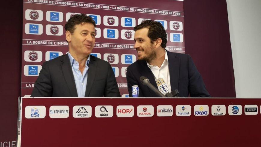 Laurent Marti et Benjamin Salah ont annoncé ce nouveau partenariat ce mercredi.