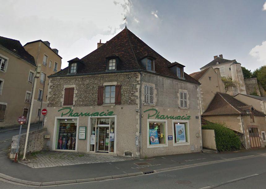 C'est cette ancienne pharmacie qui a été visée - Aucun(e)