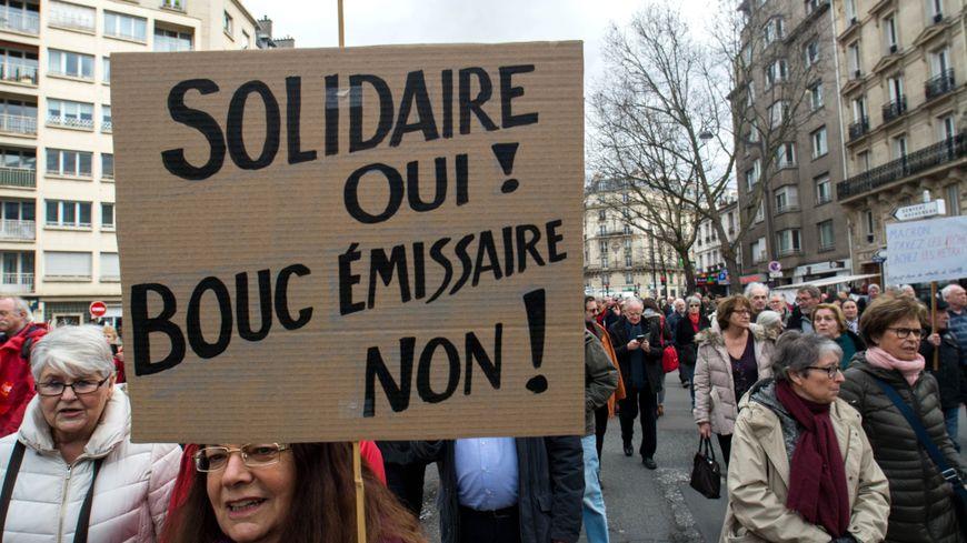 """Les syndicats appellent retraités, étudiants, membre du secteur public et privé à se mobiliser pour une """"convergence des luttes""""."""