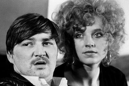 Rainer Werner Fassbinder et Hannah Schygulla