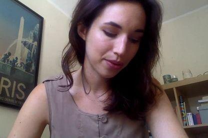 Laura à Boston, jointe via Skype par Caroline Gillet