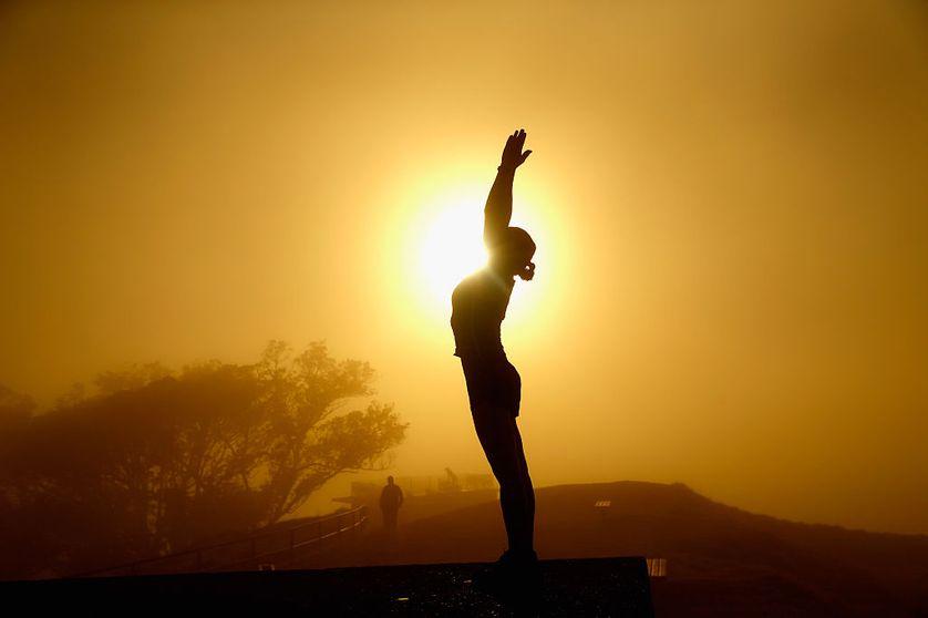 Séance de méditation en Nouvelle-Zélande