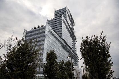 Le nouveau Palais de Justice de Paris, conçu par l'architecte italien Renzo Piano, dans le quartier des Batignolles