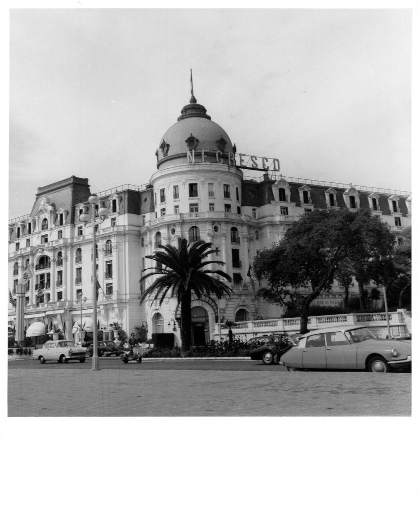 Le Negresco en 1955.