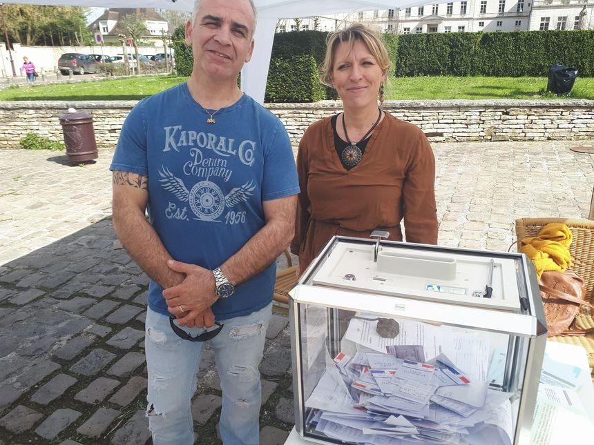 Fernando Da Costa et Céline Plaut