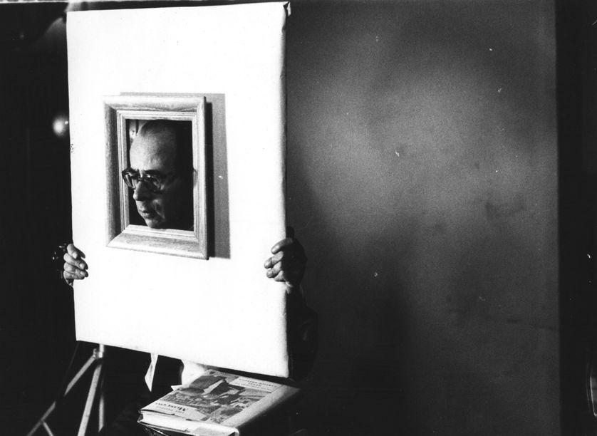 Le photographe Philippe Halsman, vers 1950