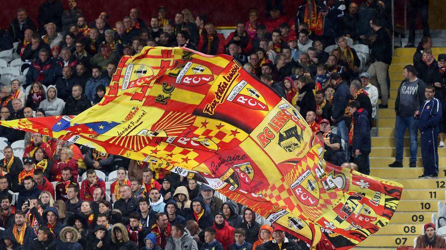 Des tensions sont nées depuis quelques mois entre les supporters du RC Lens et les joueurs (illustration).