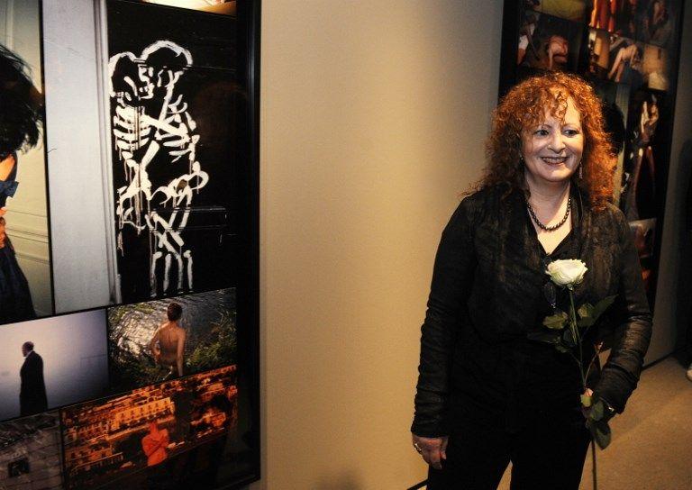 Nan Goldin lors d'une exposition à BeRLIN 2009