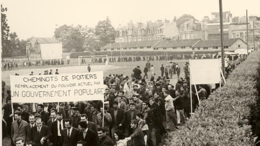 Des manifestation à Poitiers