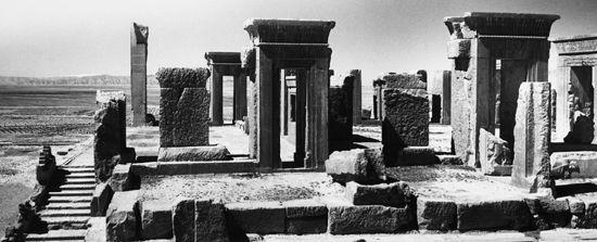 Persepolis, Iran, 1962.