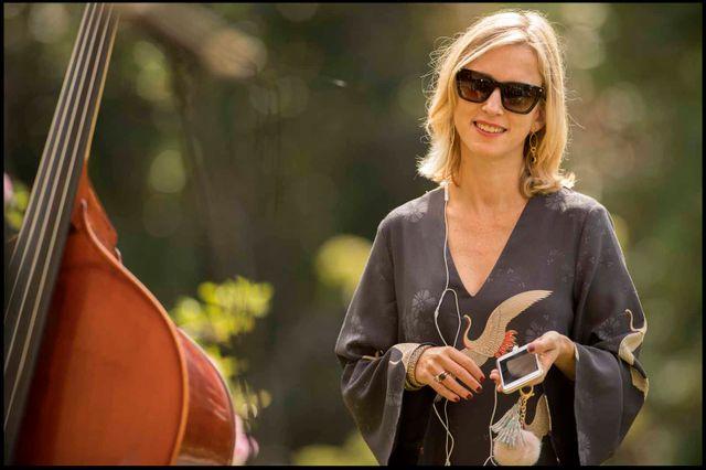 """Léa Drucker dans le film d'Agnès Jaoui """"Place publique"""""""