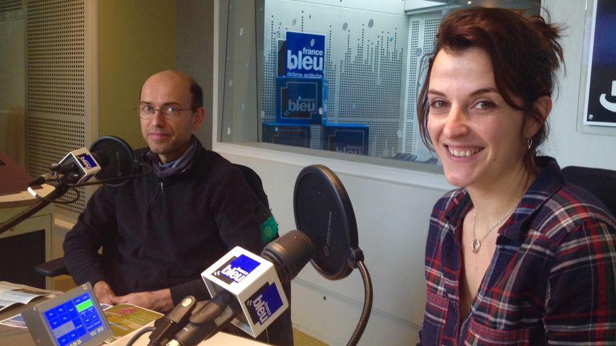 Stéphane Morinière et Marion Jourdan
