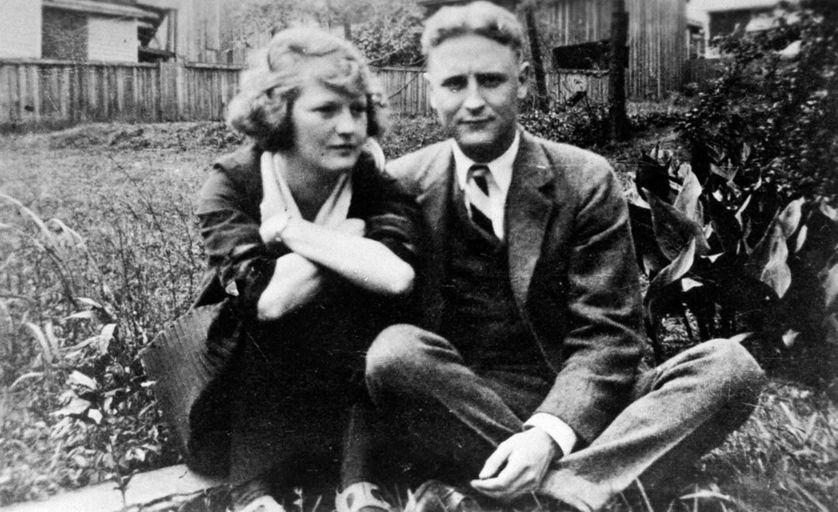 Francis Scott et Zelda Fitzgerald aux alentours de 1921