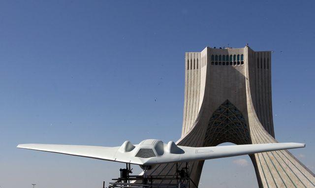 Un drone RQ-170 américain capturé par Téhéran. L'Iran en aurait mis une copie en production.
