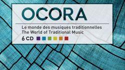 Coffret Le monde des musiques traditionnelles, de la collection Ocora