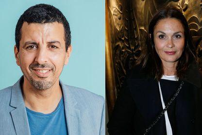 Samir Guesmi et Barbara Schulz