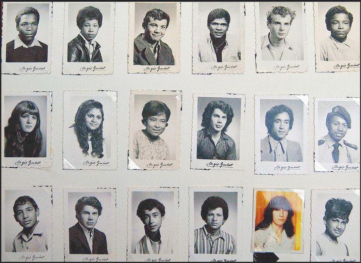 Quelques-uns des enfants réunionnais envoyés de force en métropole dans les années 1960.