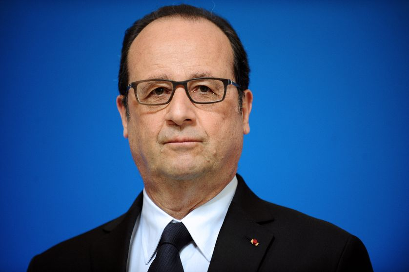 L'ancien président de la Réublique François Hollande le 14 avril 2015