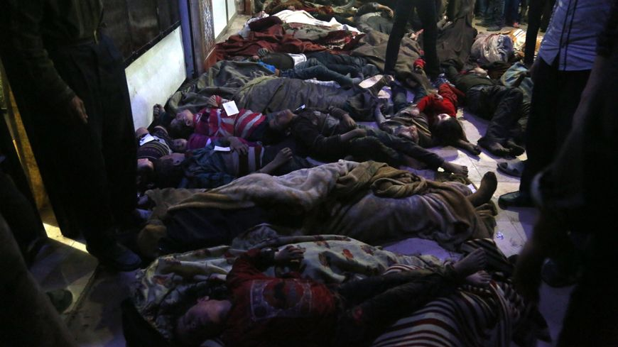 Alleged chemical attack on civilians in Douma