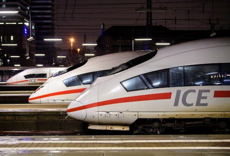 En Allemagne, la Deutsche Bahn s'est repositionnée pour affronter la concurrence en développant les lignes à grande vitesse ICE.