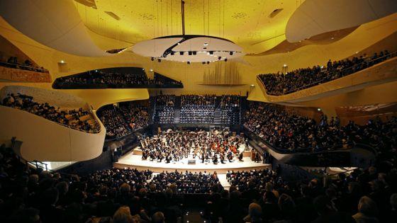 Inauguration de la Philharmonie de Paris avec l'Orchestre de Paris