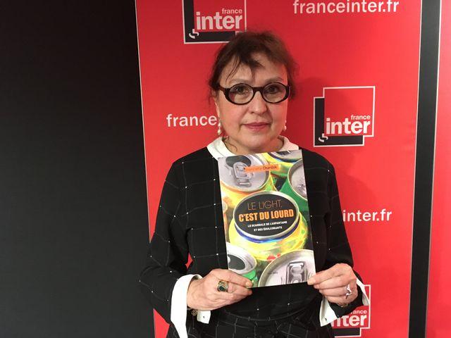 Henriette Chardak, auteure du livre Le light c'est du lourd