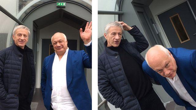 Jean-Christophe Rufin et Eric-Emmanuel Schmitt, diptyque pour Dans tes rêves