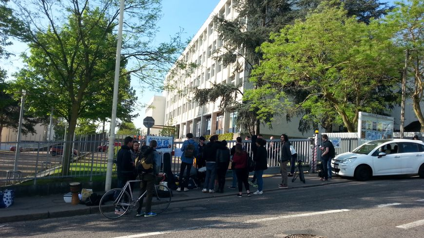 Occupé depuis le 22 mars, le campus lettres de Nancy a été évacué ce 25 avril