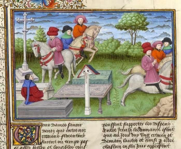 Giovanni Boccaccio Decameron, Sesta Giornata, Novella Nona: Guido Cavalcanti dice con un motto onestamente villania a certi cavalier fiorentini li quali soprappresso l'aveano.