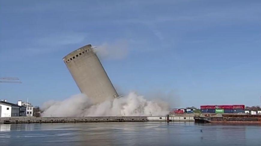La démolition d'un silo a viré à la catastrophe
