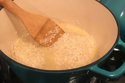 Leçon de risotto