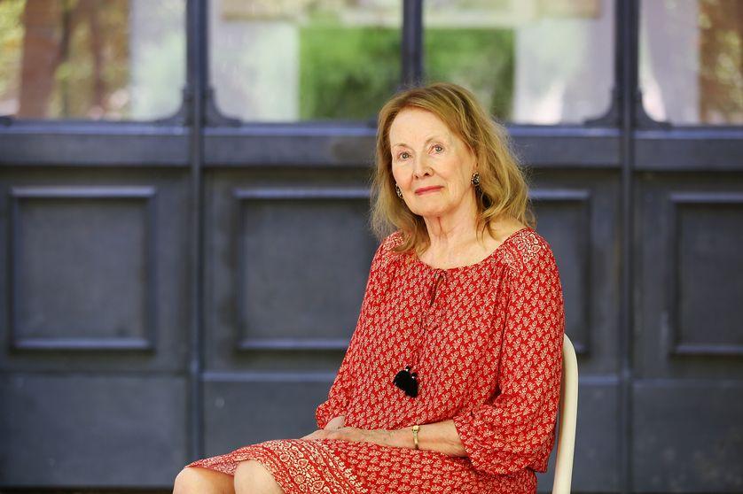 Annie Ernaux, au festival de littérature à Rome en 2016