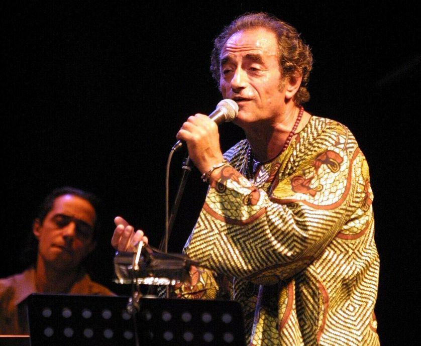 24 mai 2002 : concert de Richard Bohringer avec une formation jazz-funk à Sin-Le-Noble.