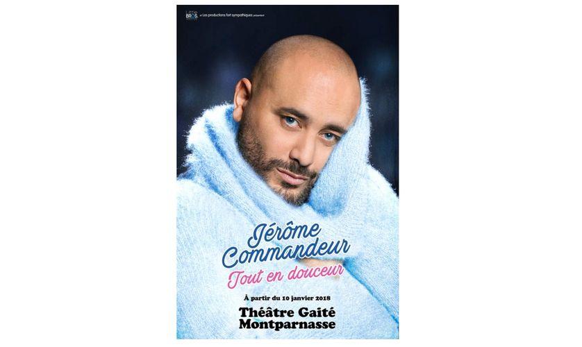Jérôme Commandeur : Tout en douceur au Théâtre de la Gaîté-Montparnasse