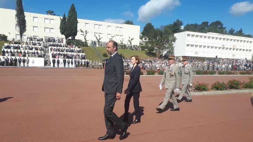 Le premier ministre et la ministre de la défense à Aubagne ce lundi
