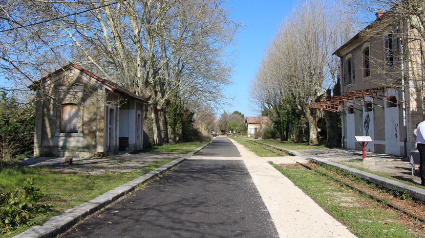 L'ancienne gare d'Aubignan-Loriol-du-Comtat