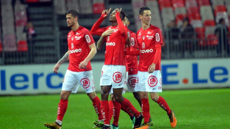Habib Diallo a délivré les Brestois en marquant à la 80ème minute contre Clermont mardi soir.