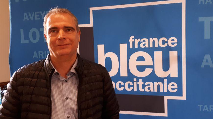 Gilles Carles, rédacteur en chef du journal Le Tarn Libre