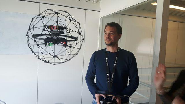 Le drone Elios est destiné aux environnements hostiles