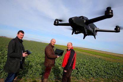 L'agriculture pourrait représzenter 80% du marché des drones professionnels