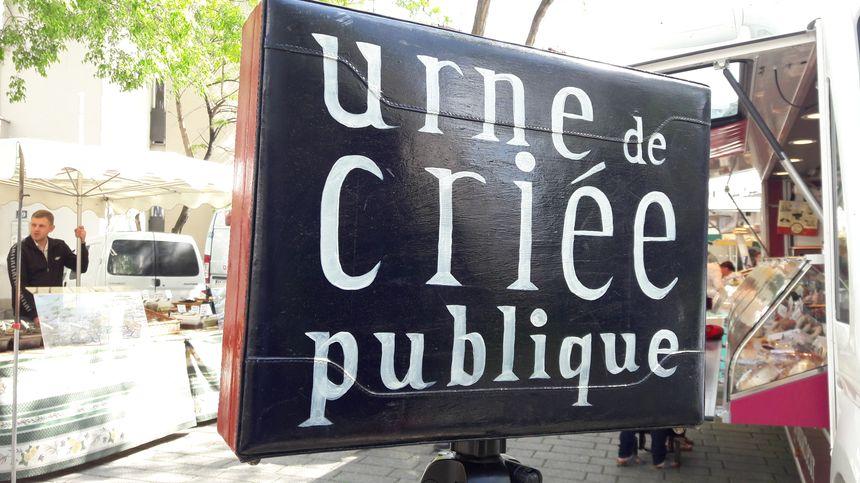 Criée publique à Strasbourg, le 25 avril 2018