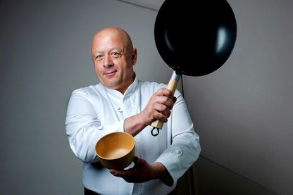Le chef cuisinier Thierry Marx