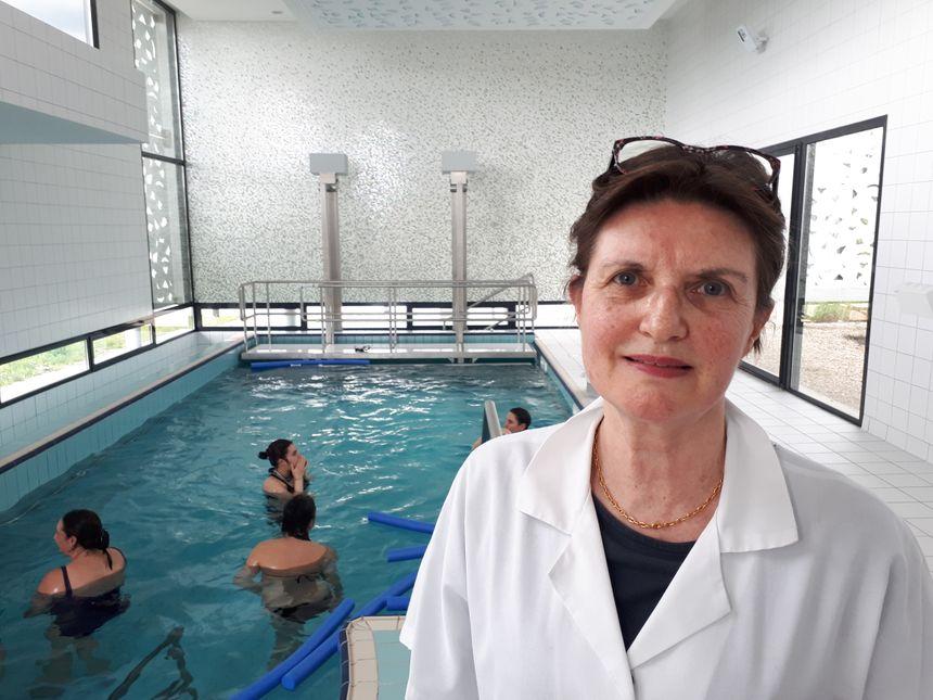 Le Docteur Françoise Bandaly, Chef Du Service Mère-enfants Du Centre  Hospitalier De Châteauroux
