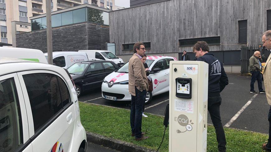 Le printemps de Bourges disposera d'une borne de recharge éphémère pour rouler à l'électricité.