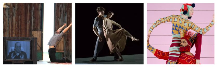 Some Thoughts on Bergman and dance © Amanda & Jacob Stephenson / Hugo Marchand et Amandine Albisson © Ann Ray - OnP / Nouvelles pièces courtes © Charles Fréger