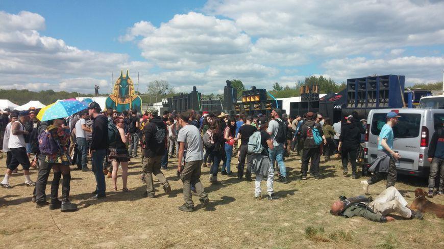 Le Teknival de Pernay en 2017